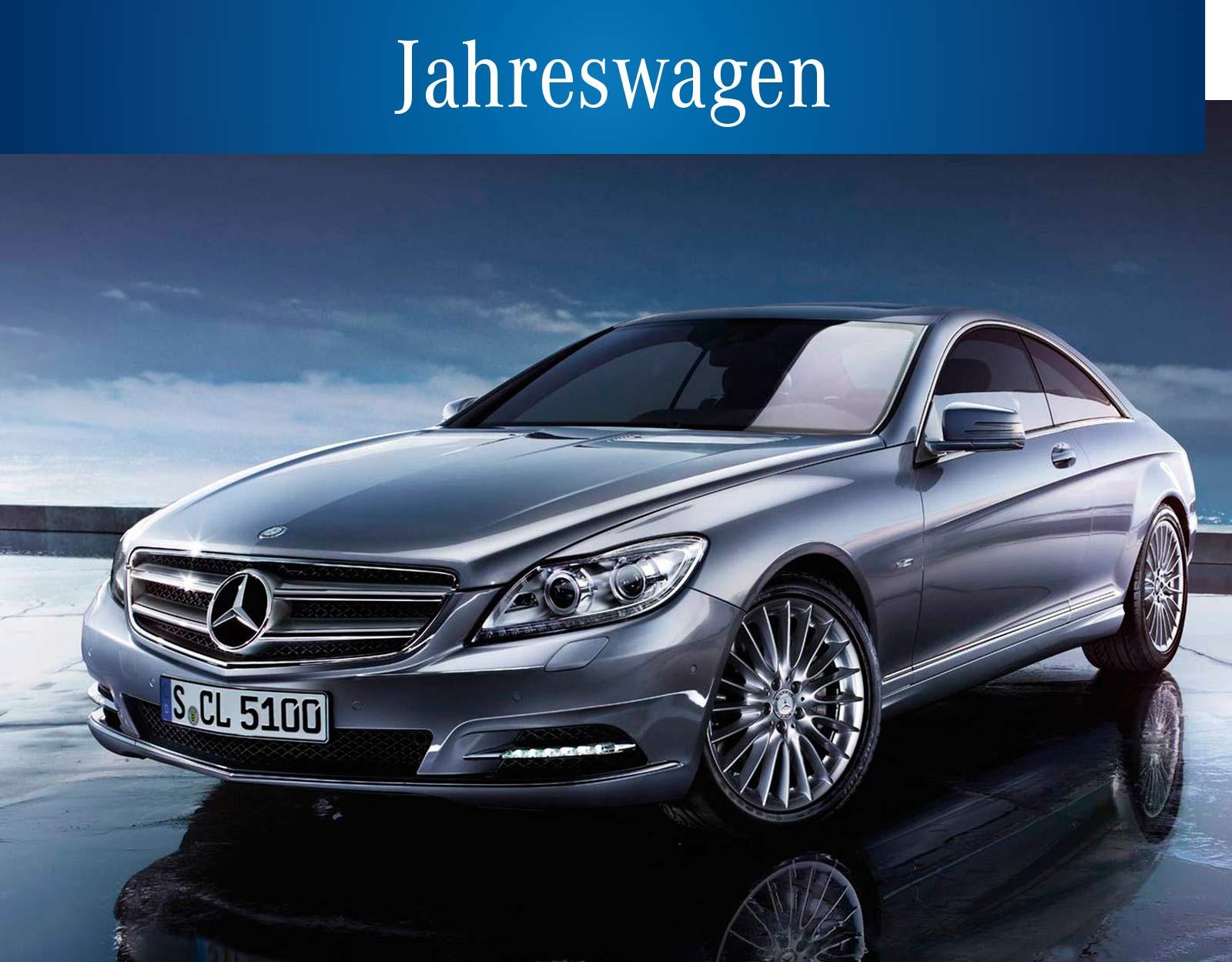 Mercedes Jahreswagen Stuttgart